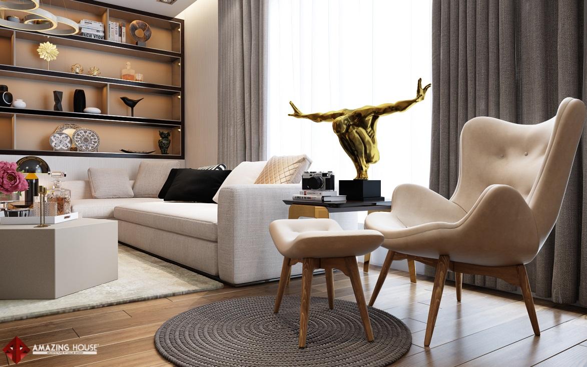 Thiết kế nội thất biệt thự Việt Hưng