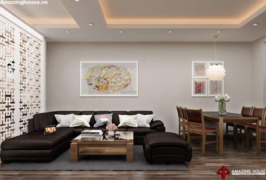 Thiết kế nội thất chung cư Royal City – Chủ đầu tư: anh Tuấn