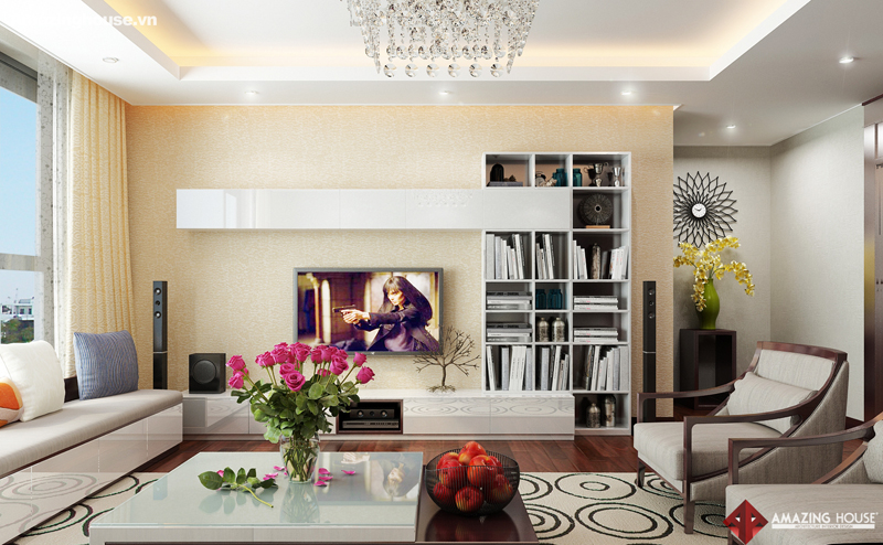 Thiết kế nội thất chung cư Hyundai Hillstate