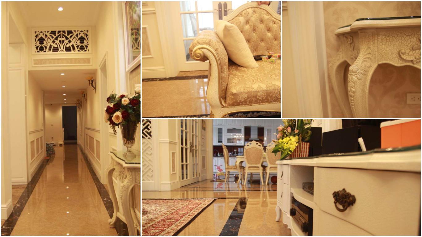 Không gian nội thất tân cổ điển sang trọng , đẳng cấp tại The Manor
