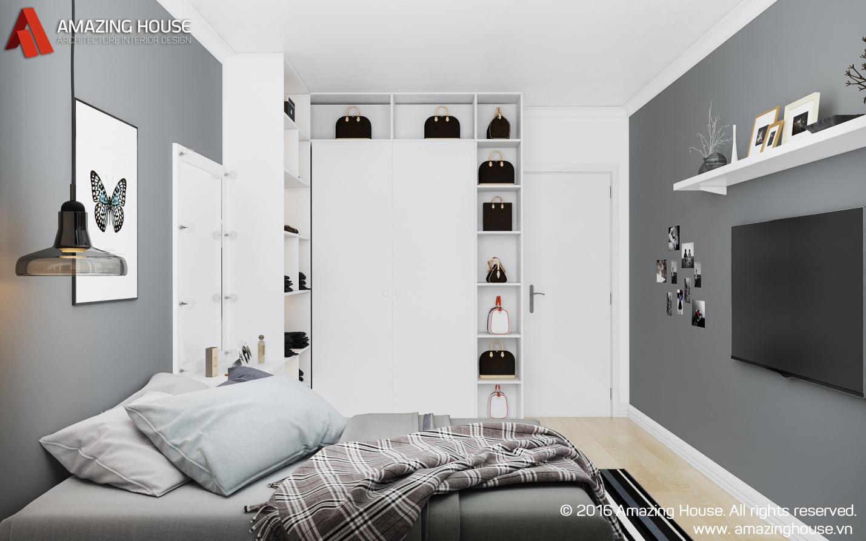 Thiết kế nội thất phòng ngủ hotgirl Quỳnh Anh Shyn