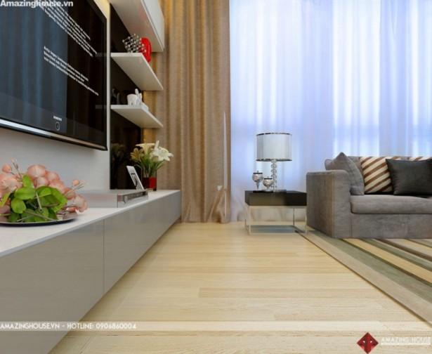 Thiết kế nội thất chung cư Hyundai  – Chủ đầu tư: Chị Hoa