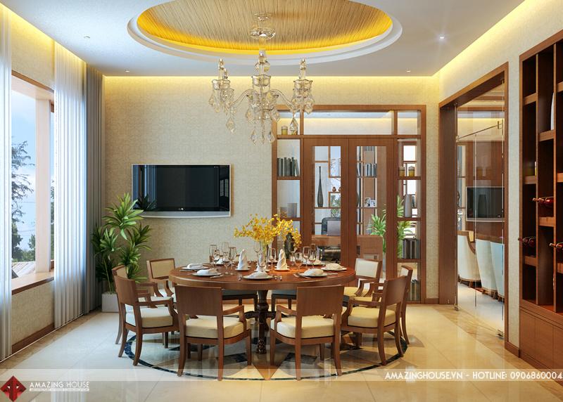 Thiết kế nội thất biệt thự Ecopark