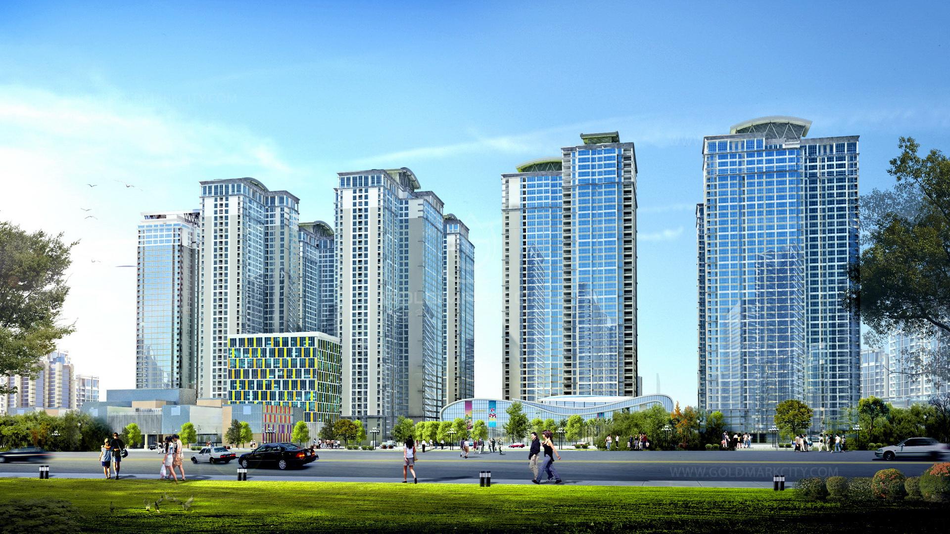 Thiết kế nội thất chưng cư GoldMark city