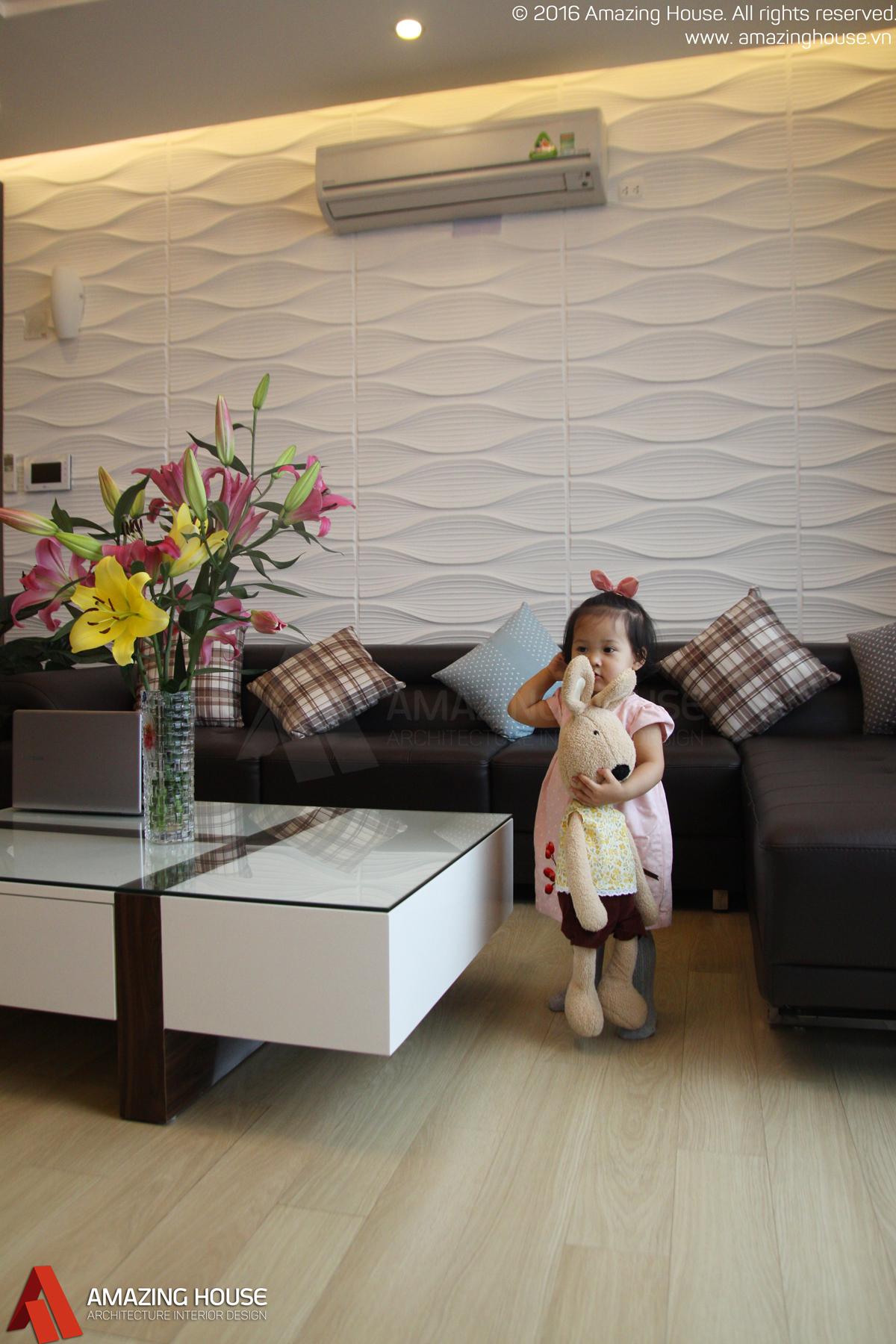 Thi công nội thất căn hộ chung cư Hyundai Hillstate