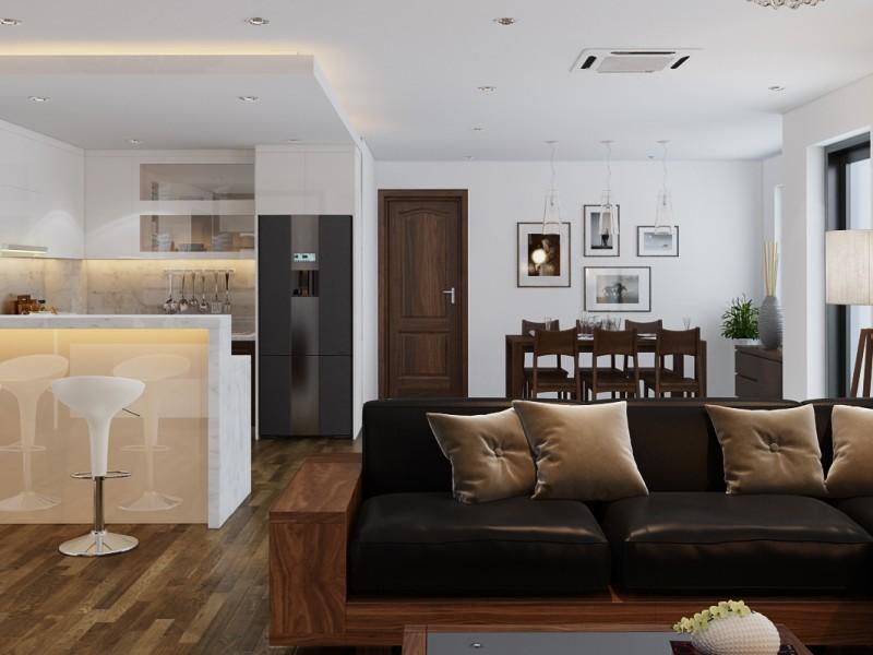 Thiết kế nội thất Hòa Bình green city – Chủ đầu tư: chị Thúy