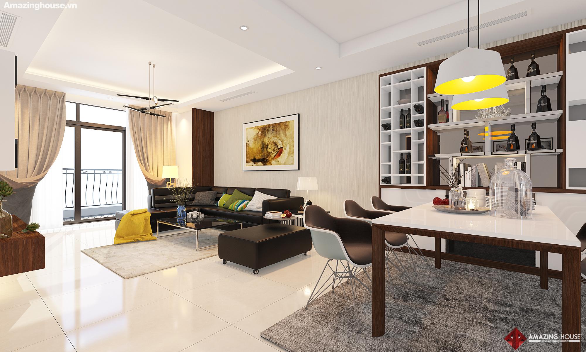 Thiết kế nội thất Royal City