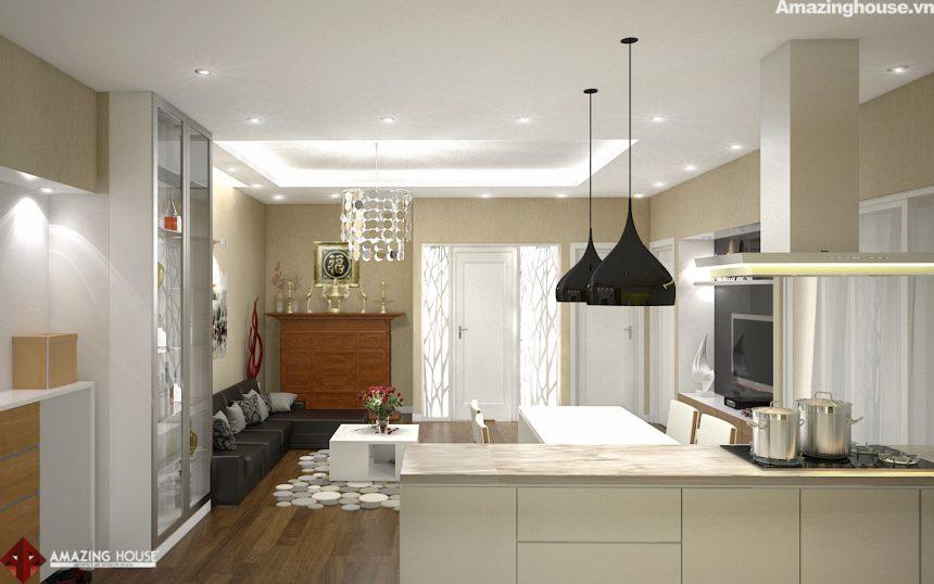 Thiết kế nội thất căn hộ chung cư Eurowindows- Chủ đầu tư: anh Cảnh