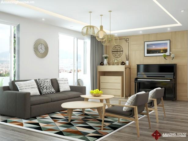 Thiết kế nội thất chung cư N04 Dịch Vọng_Nhà anh Hoàng