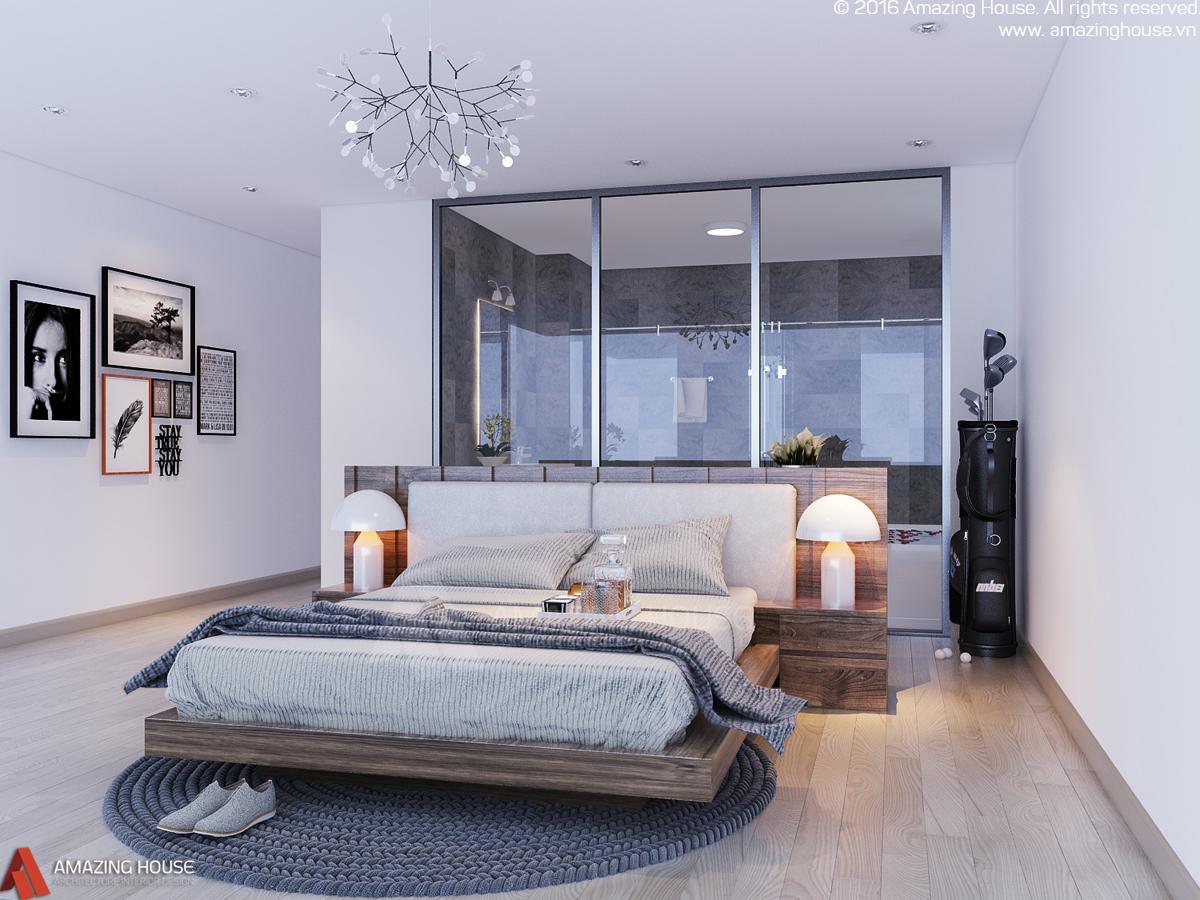 Thiết kế nội thất biệt thự biển Nha Trang