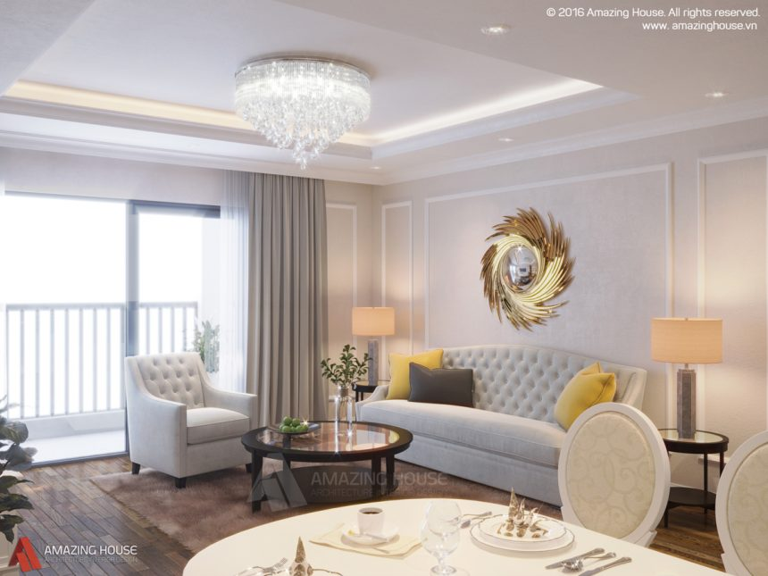 Thiết kế nội thất Goldmark City – Gia đình anh Tuân