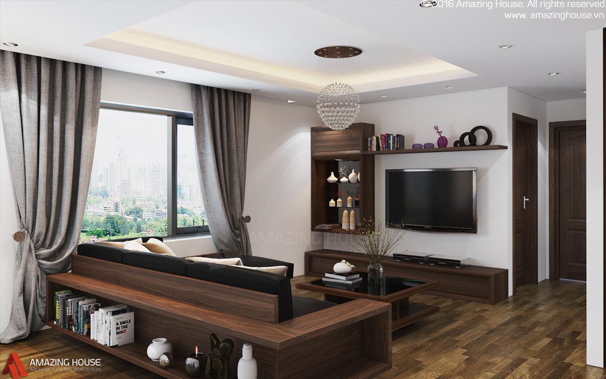 Thiết kế nội thất Hòa Bình green city