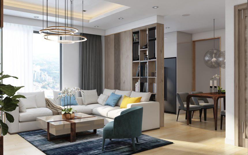 Không gian nội thất theo xu hướng mới tại Hyundai Hillstate