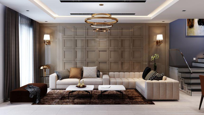 Mẫu thiết kế nội thất biệt thự Gamuda City
