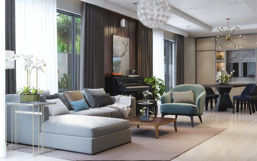 Thiết kế nội thất Vinhomes Gardenia Mỹ Đình sang trọng và cuốn hút