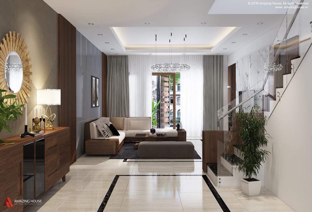 Thiết kế nội thất biệt thự liền kề Vinhomes Botanica