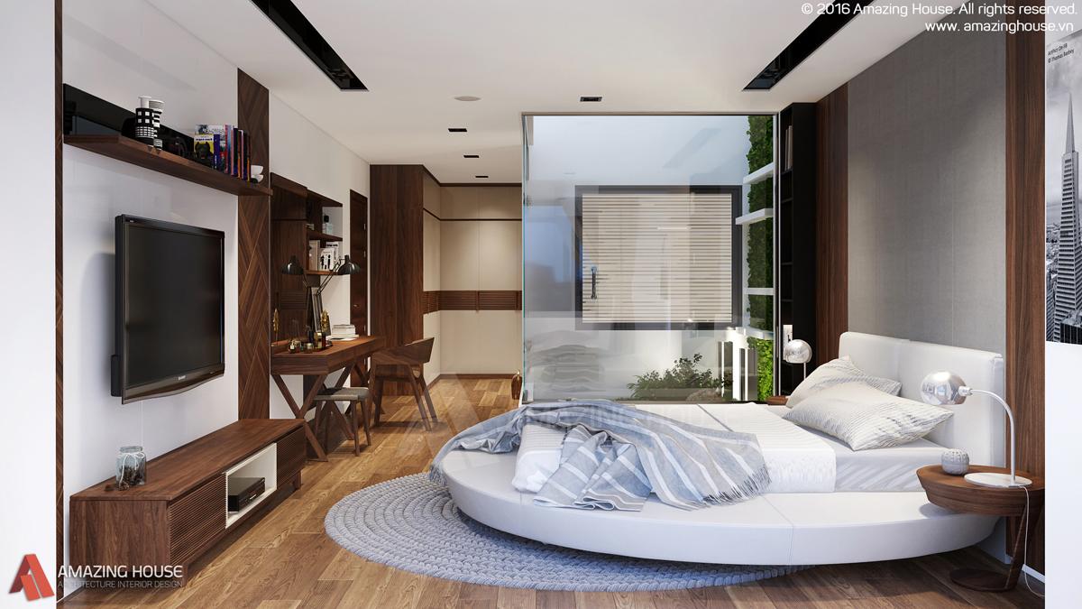 Thiết kế nội thất biệt thự Vinhomes Thăng Long