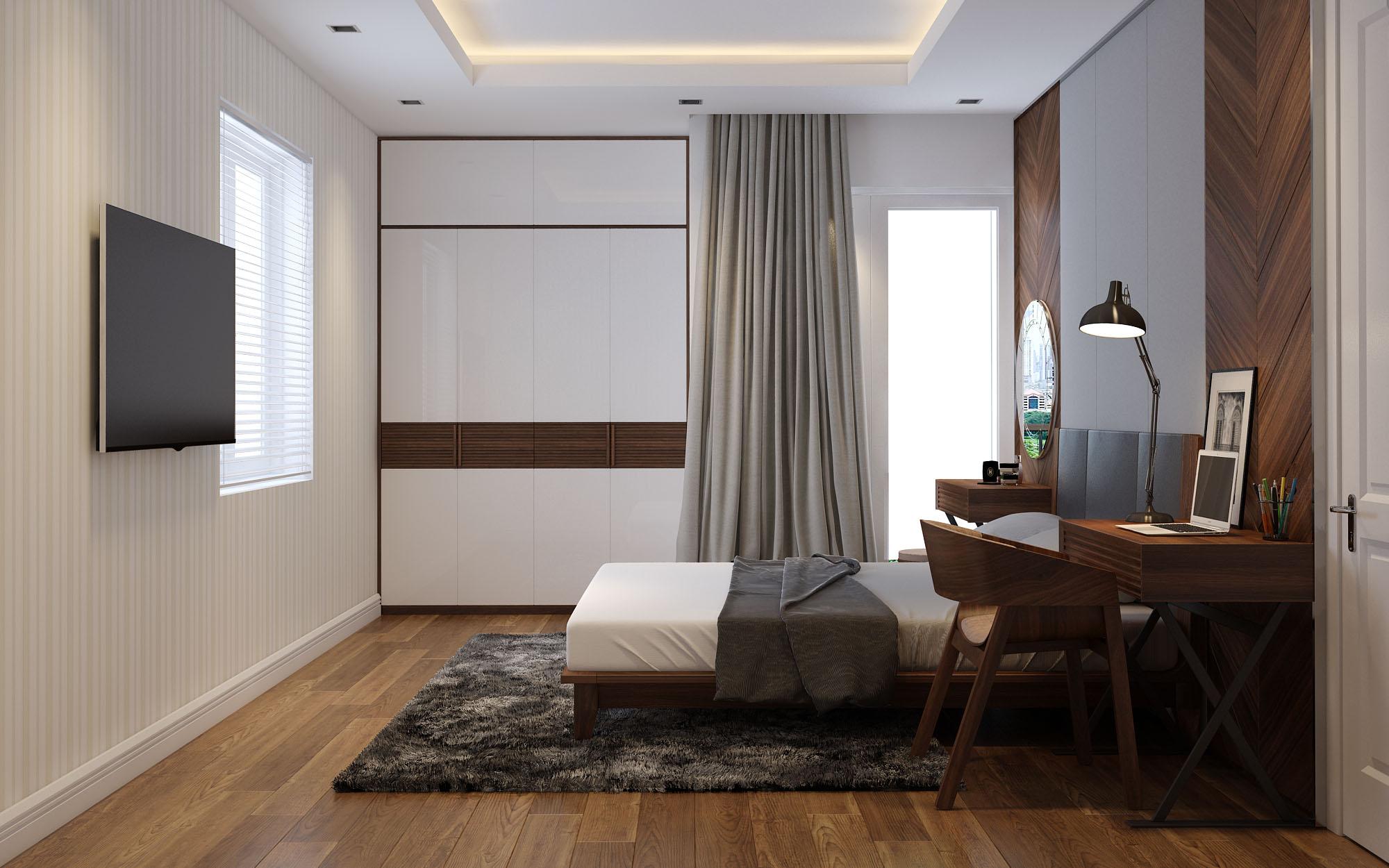 Thiết kế nội thất Vinhomes Times City Park Hill nhà anh Cường