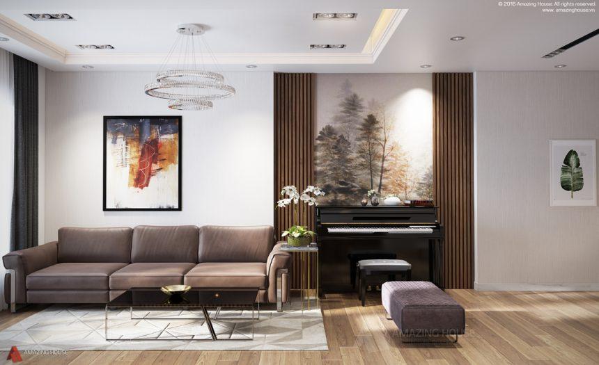 Những đường nét thiết kế mới nội thất Eco Green Nguyễn Xiển