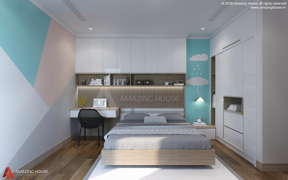 Thiết kế nội thất chưng cư Timecity ParkHill