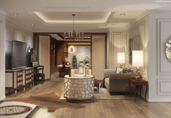 Thiết kế nội thất Imperia Garden chủ đầu tư anh Dũng