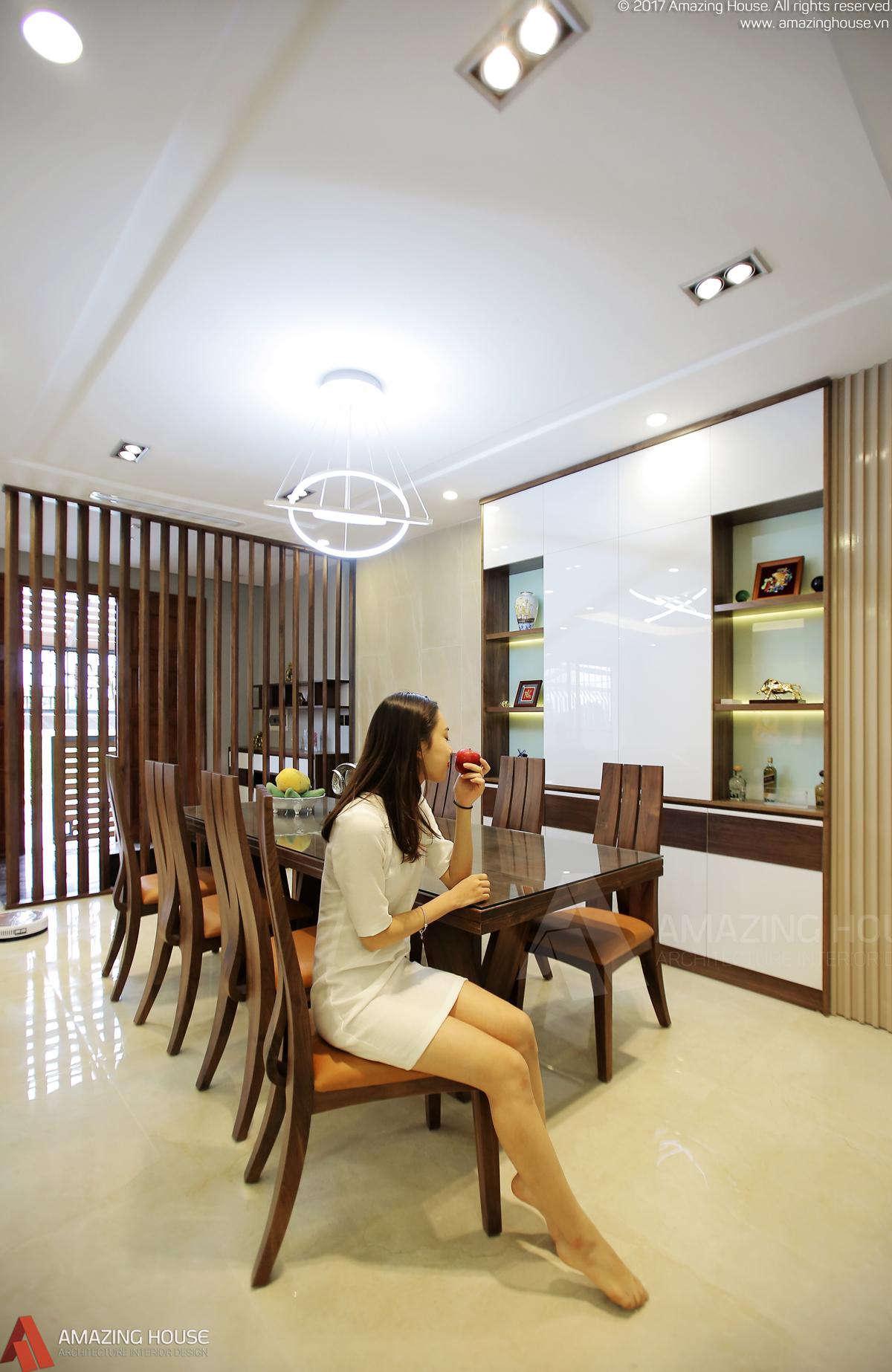 Dự án thi công nhà anh Linh VOV Mễ Trì