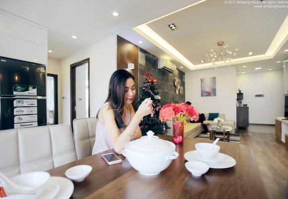 Hình ảnh thi công căn hộ nhà anh Phan Mỹ Đình COMPLEX