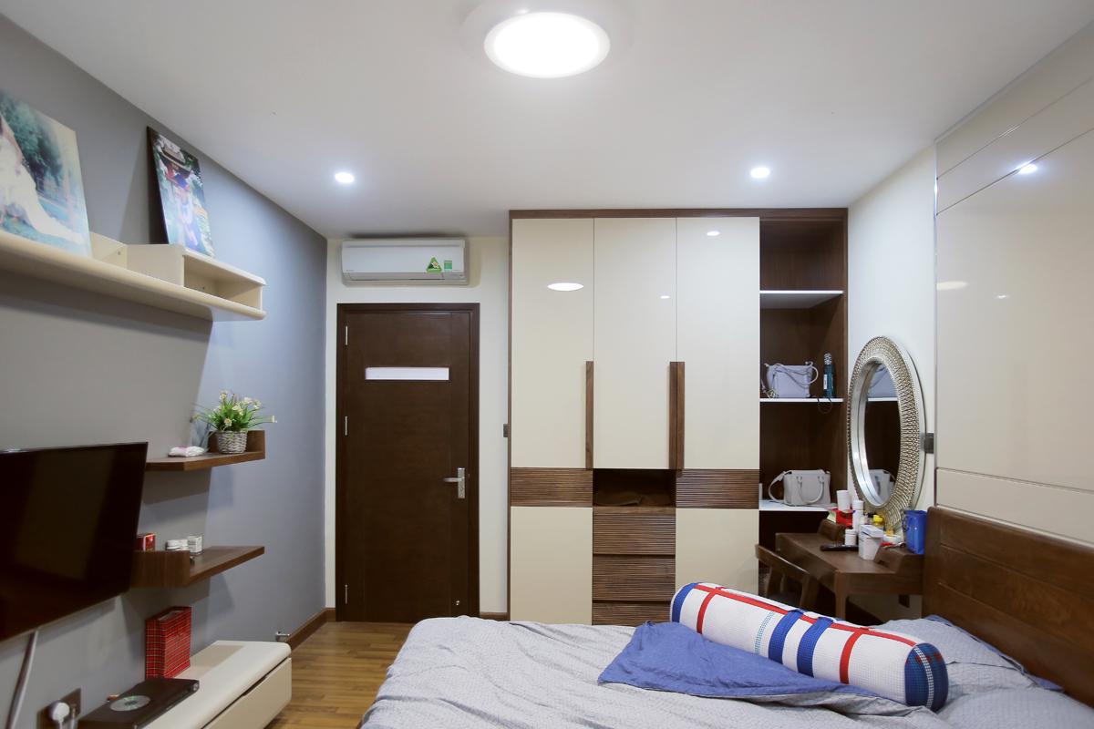 Ảnh hoàn thiện nội thất căn hộ nhà anh San Home City Trung Kính