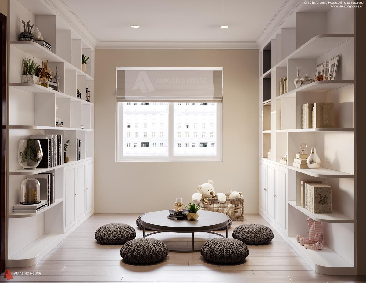 Không gian nội thất căn biệt thự Evelyne - nhà anh Sơn