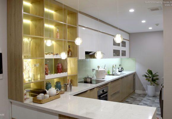 Ảnh thi công nhà anh Minh 2306 R4 Goldmark City