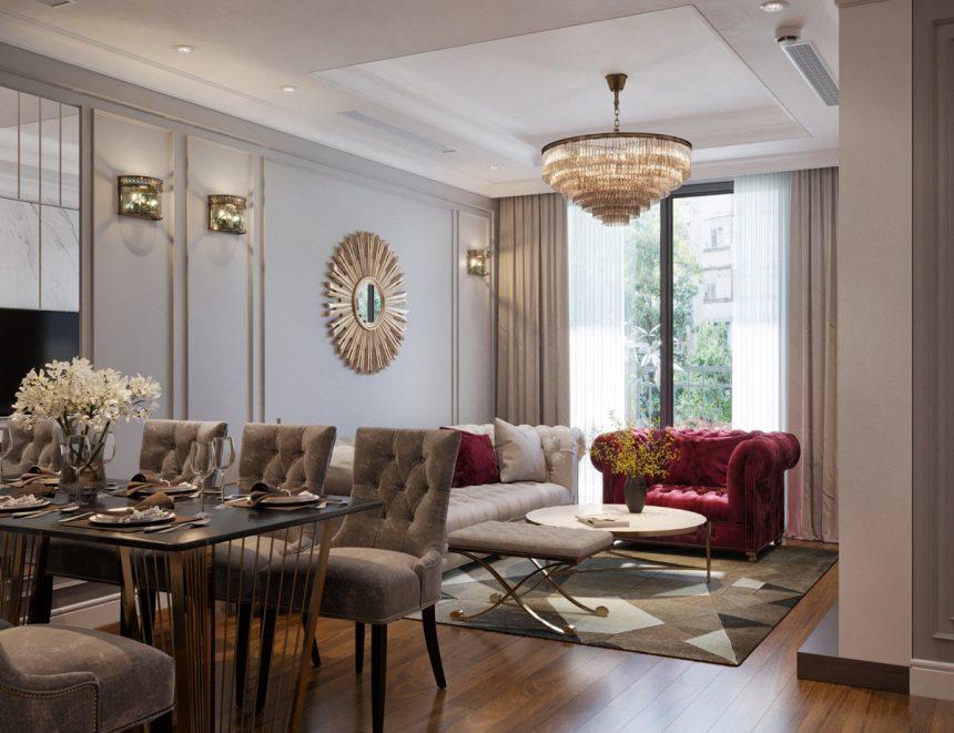 Nội thất căn hộ luxury tại Goldmark city – Không gian tinh tế, đẳng cấp