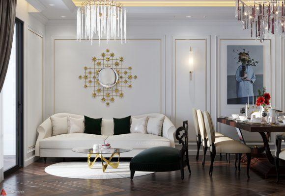 Sang trọng với mẫu thiết kế căn hộ chung cư The Emerald