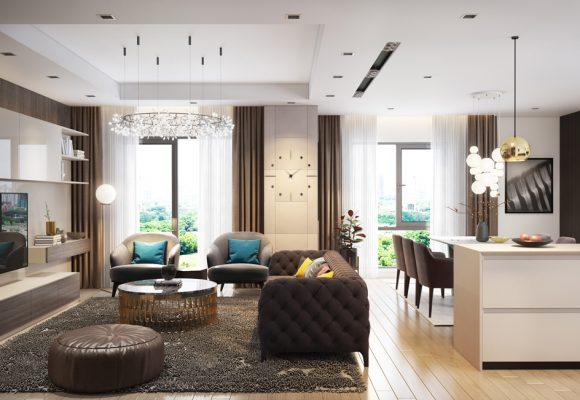 Thiết kế nội thất chung cư Sunshine Riverside phong cách hiện đại