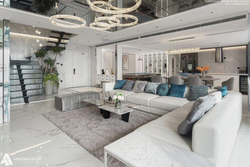 Siêu phẩm penthouse triệu đô tại Kosmo Tây Hồ