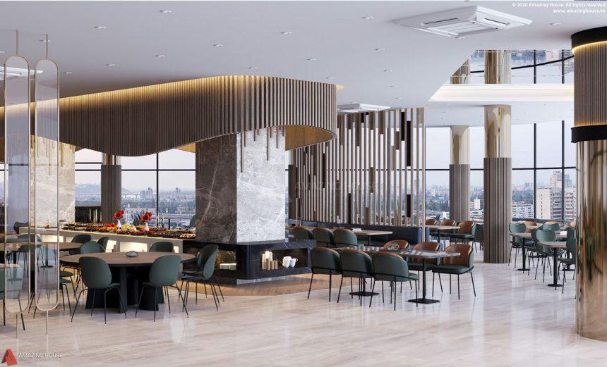 Thiết kế và thi công nội thất khách sạn 4 sao Marina Suite Nha Trang