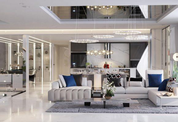 Penthouse với tầm view triệu đô tại Kosmo – Tây Hồ