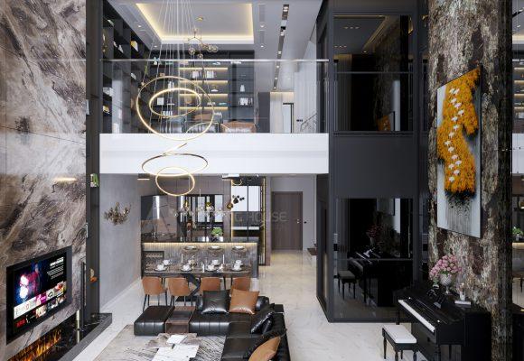 Ngỡ ngàng với căn Biệt Thự hiện đại trị giá 22 TỶ tại The Mansions Park city